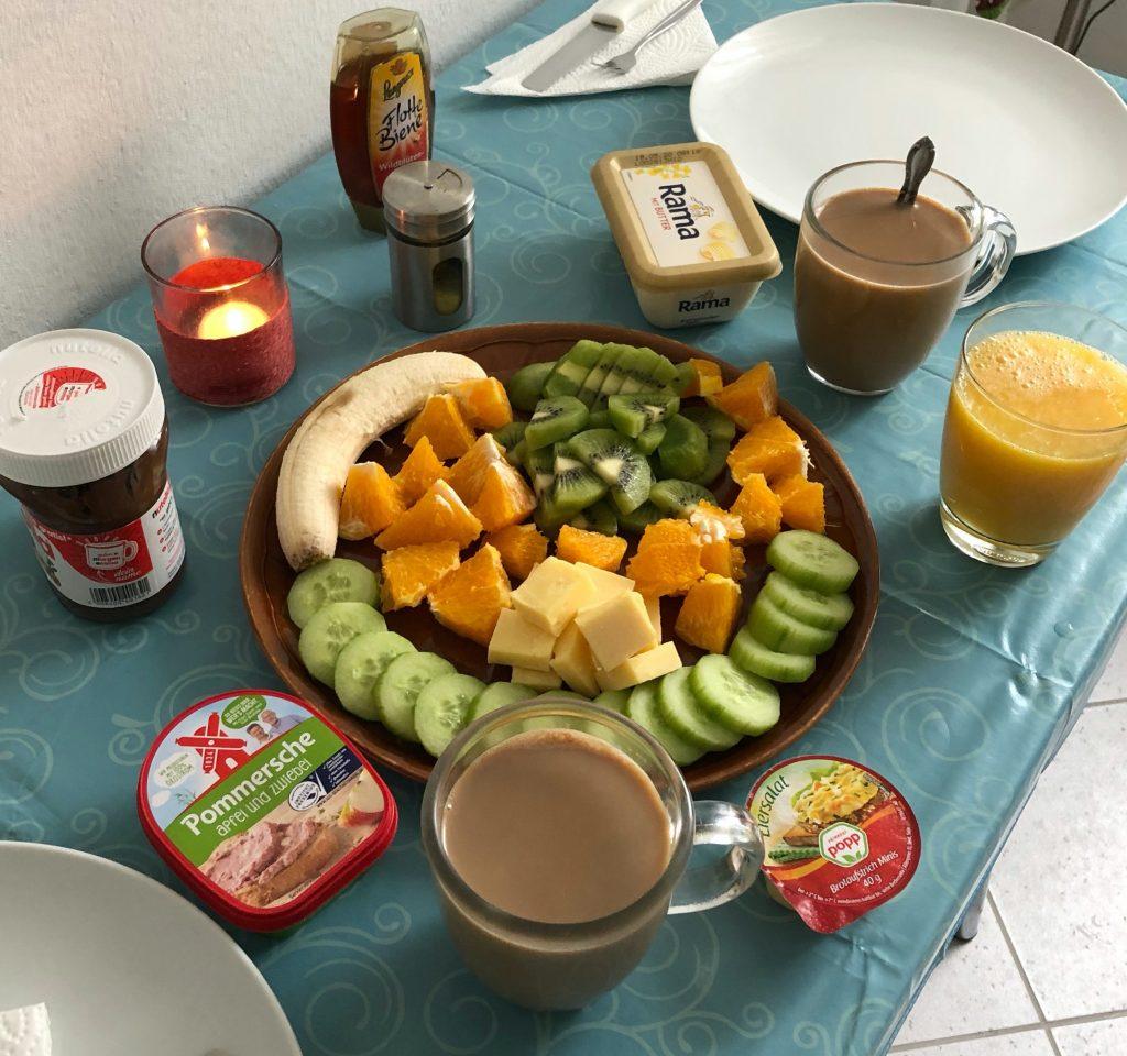 Frühstück am 26.04.2020 (Corona - Zeiten)