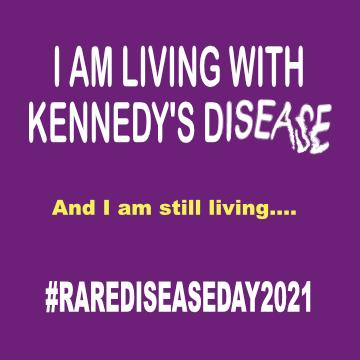 Leben mit SBMA oder auch Kennedy's Disease